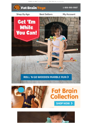 Fat Brain Toys - 6 Toys Sure to Be Gone by Thanksgiving!