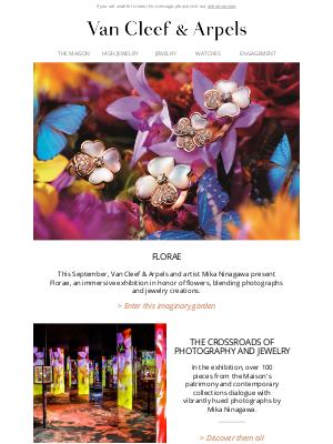 Van Cleef & Arpels - Florae, a dreamlike exhibition dedicated to flowers