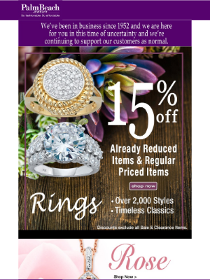 PalmBeach Jewelry - Enjoy this coupon on items already on SALE.