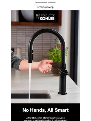 Kohler Co. - The Smartest Kitchen Faucets