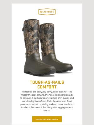 LaCrosse Footwear Inc - Heavyweight Comfort, Lightweight Package