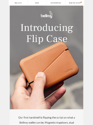 Bellroy - Flip Case has arrived.