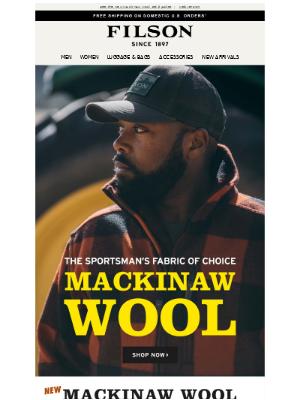Filson - Mackinaw Wool Jackets, Vests & Pants