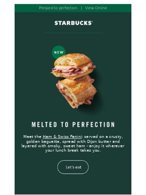 Introducing the Ham & Swiss Panini