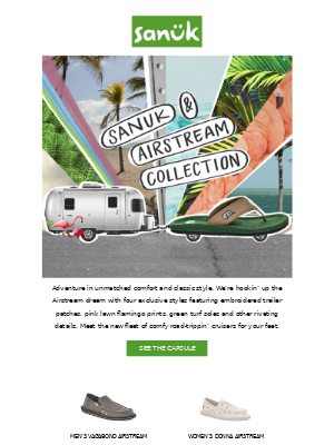 We hitched up with Airstream. Exclusive capsule!