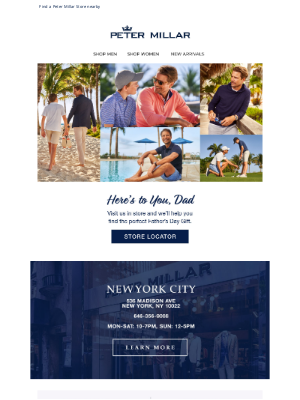 Peter Millar - It's Not Too Late For The Perfect Gift