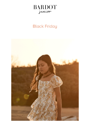 Bardot - Black Friday sale continues