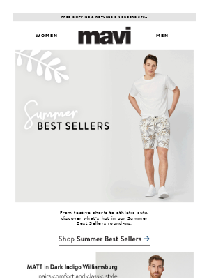 The Best Sellers: Men's Edition