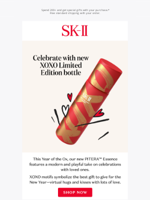Sk-II - Don't miss our limited edition XOXO essence