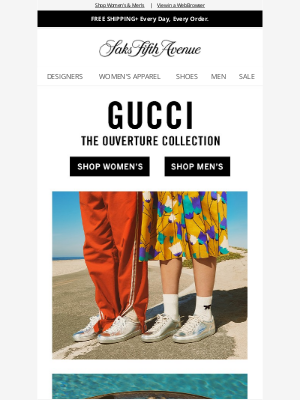 Saks Fifth Avenue - Just in from Gucci: The Ouverture Collection