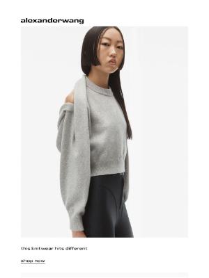 Alexander Wang - tough knit