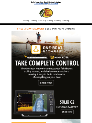 Become the master of your fishing domain