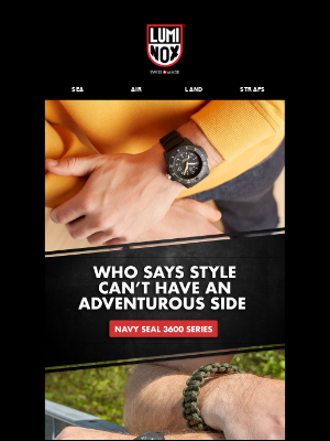 STYLE AND ADVENTURE...A TRUE HYBRID WATCH