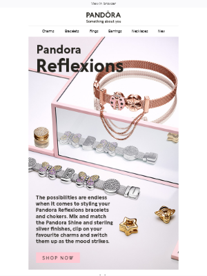 Pandora Jewelry (UK) - New Reflexions charms to add to your collection