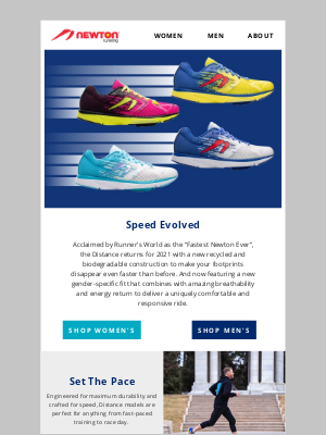 Newton Running - The New Distance and Distance S 10: Sustainable Speed