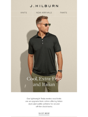 J.Hilburn - The Triple Threat: Cool, Extra-Fine and Italian