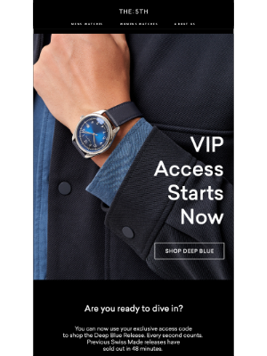 The 5TH - SHOP NOW: VIP ACCESS BEGINS