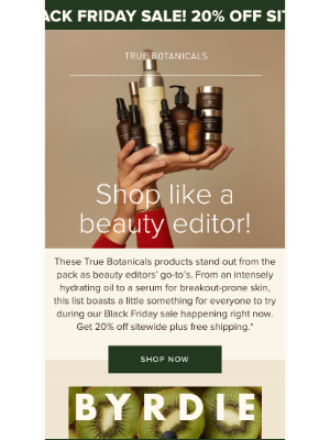True Botanicals - 20% off Beauty Editor Approved Skincare