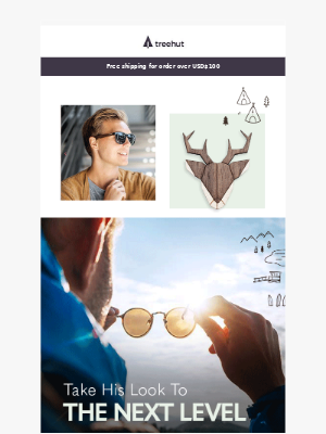 Which sunglasses will look best with his eyes?