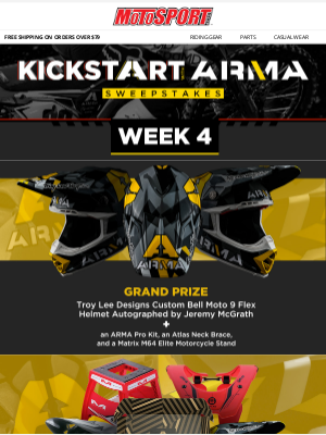 Final Week   Win The Kickstart With Arma Grand Prize Package