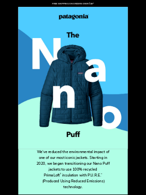 Patagonia - Reducing carbon—it's so hot right now