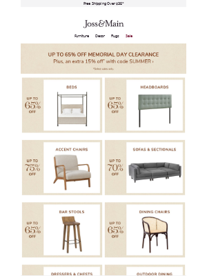 • Bed clearance •  Get it before it's gone →