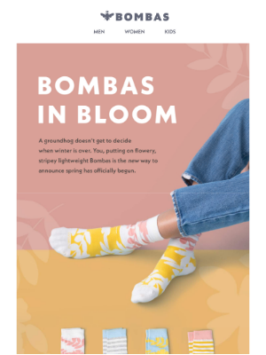 Spring is Coming Early. Spring Bombas, Anyway.