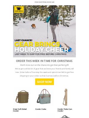 Mountainsmith - Gear brings holiday cheer!
