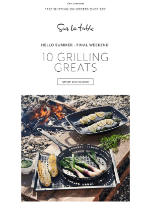 10 reasons to get excited for grilling season.