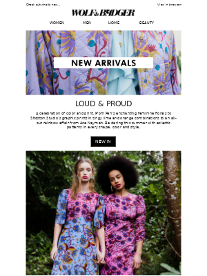 New Arrivals | All About The Prints