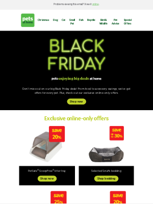 Pets at Home (UK) - Time to bag your Black Friday bargains 🛍️