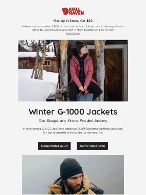 Fjällräven - Winter G-1000 Jackets