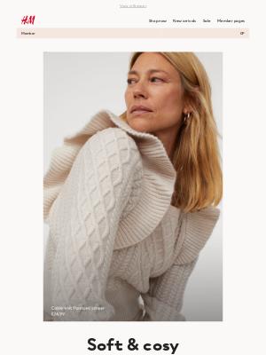 H&M (UK) - Soft neutrals ☁️