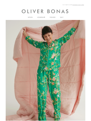 Oliver Bonas - New in | Pyjama sets for stylish snoozing 💤