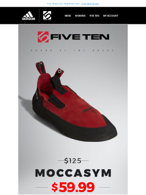 Adidas Five Ten - Moccasym Sale - Only $59.99