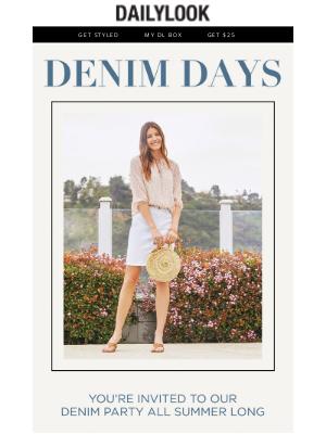 DailyLook - Summer Denim Days are Here!