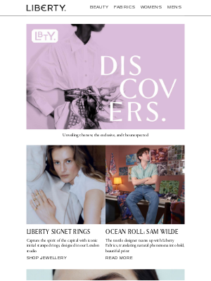 Liberty London (UK) - Liberty Discovers: Personalised rings, stamped in London