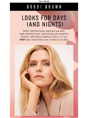 Bobbi Brown Cosmetics - A can't-live-without-it set