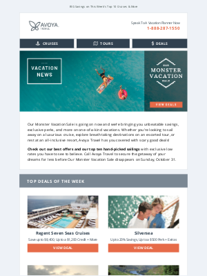 Regent Seven Seas Cruises - Happening Now! Our Monster Vacation Sale