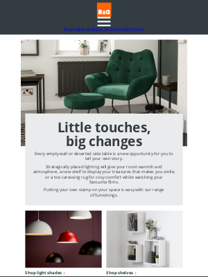 DIY at B&Q (UK) - Interiors inspiration just for you.