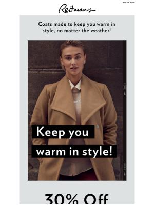 Reitmans (CA) - ❄️ Cold weather? No problem!