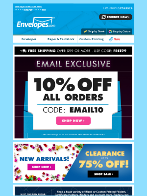 Envelopes.com - 🎉LAST DAY to save with this EXCLUSIVE deal!