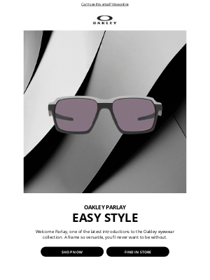 Oakley - Just Landed:Discover Parlay