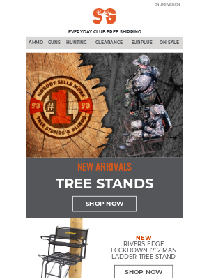 Sportsman's Guide - Tree Stand New Arrivals