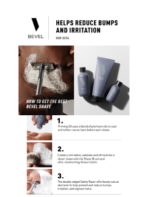 BEVEL - 100% Softer and Smoother