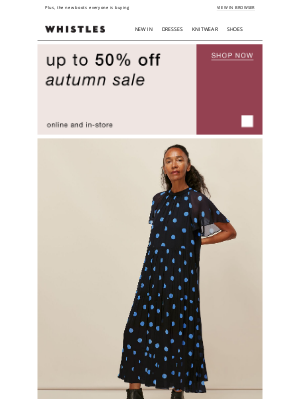 Whistles (UK) - Sale favourites up to 50% off