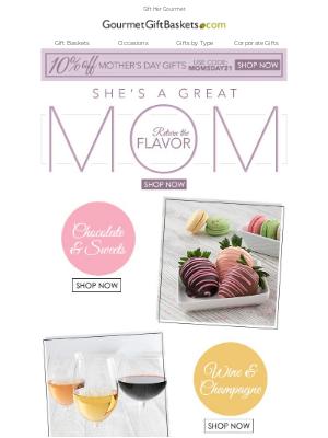 GourmetGiftBaskets - Mom Deserves The Best
