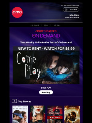 AMC Theatres - Check Out the Latest Movies On Demand