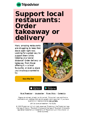 xxx: Help your favourite restaurants during COVID-19