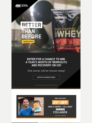 Optimum Nutrition - The best remedy for sleep—plus this week's deals!